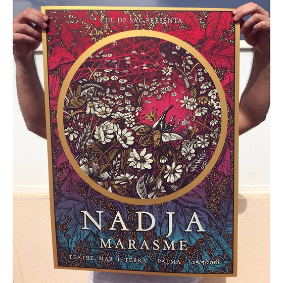 Image of NADJA 'Between the leaves' GOLD