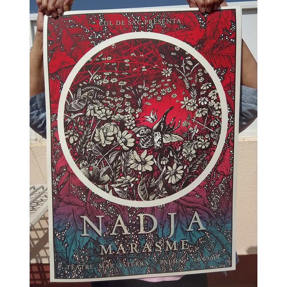Image of NADJA 'Between the leaves' WHITE