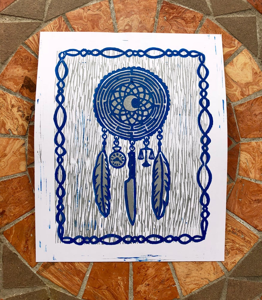 Image of Rift Dreamcatcher print
