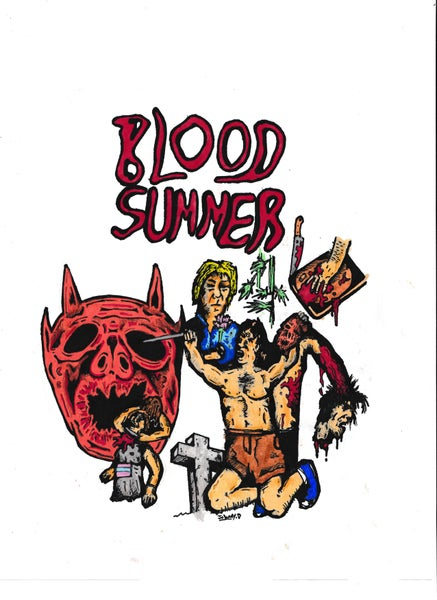 Image of Blood Summer / Sometimes At The Cherokee Sink VHS Double Feature
