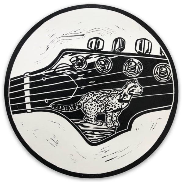 Image of Ocelot sticker