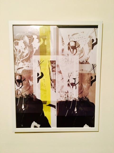 Image of Nadila Album Artwork (framed print)
