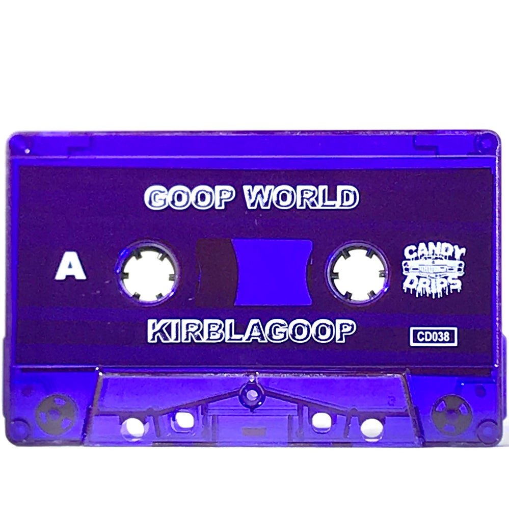 Image of KIRBLAGOOP - GOOP WORLD - LIMITED CASSETTE