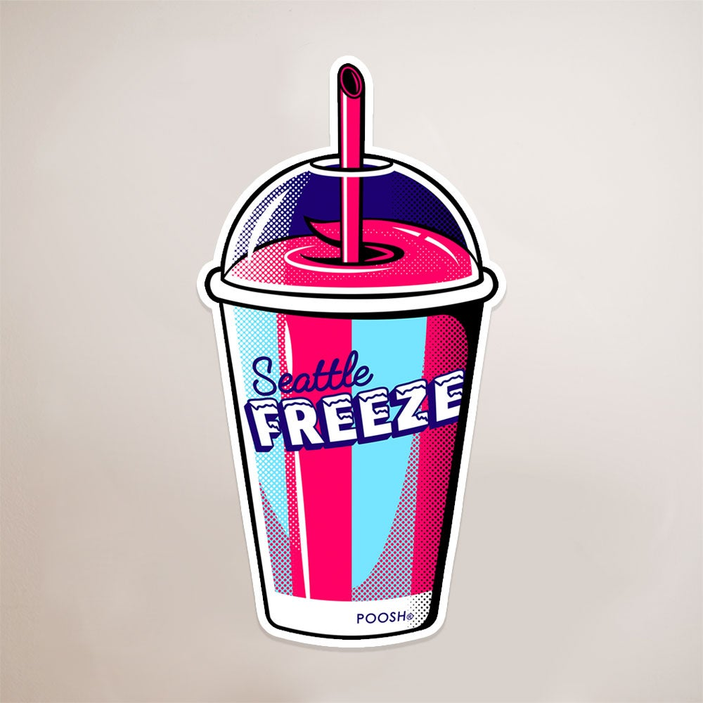 Image of Seattle Freeze sticker