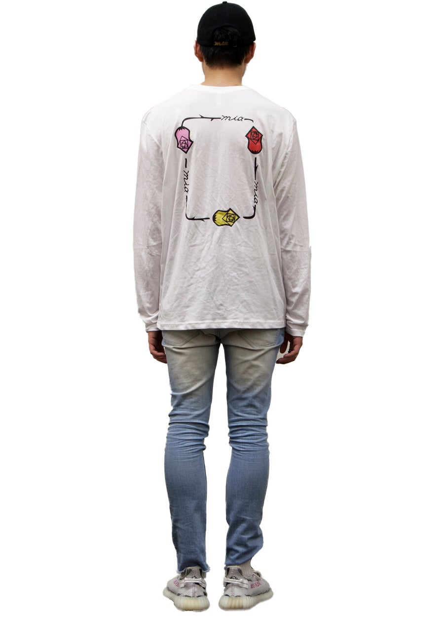 Second Image of chalk white long sleeve