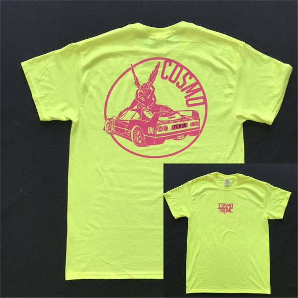 Image of T-Shirt TURBO fluo