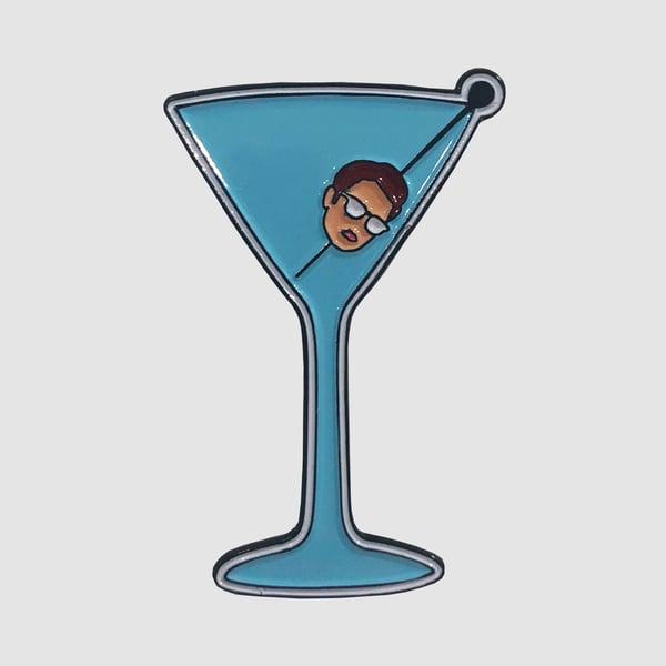 Image of Dirty Martini Enamel Pin