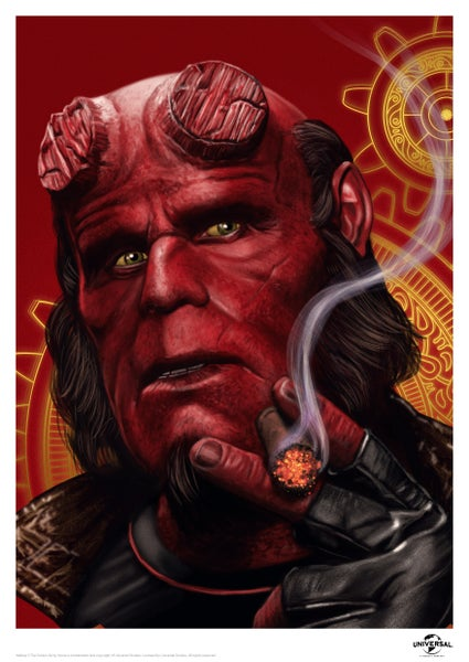 Image of Hellboy A3 (officially licensed)