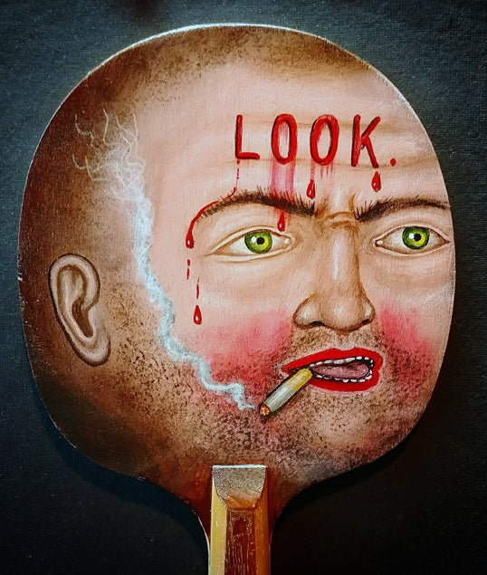 Image of Fred Stonehouse - Look paddle