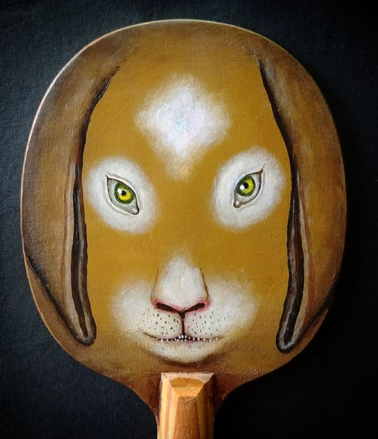 Image of Fred Stonehouse - Rabbit paddle