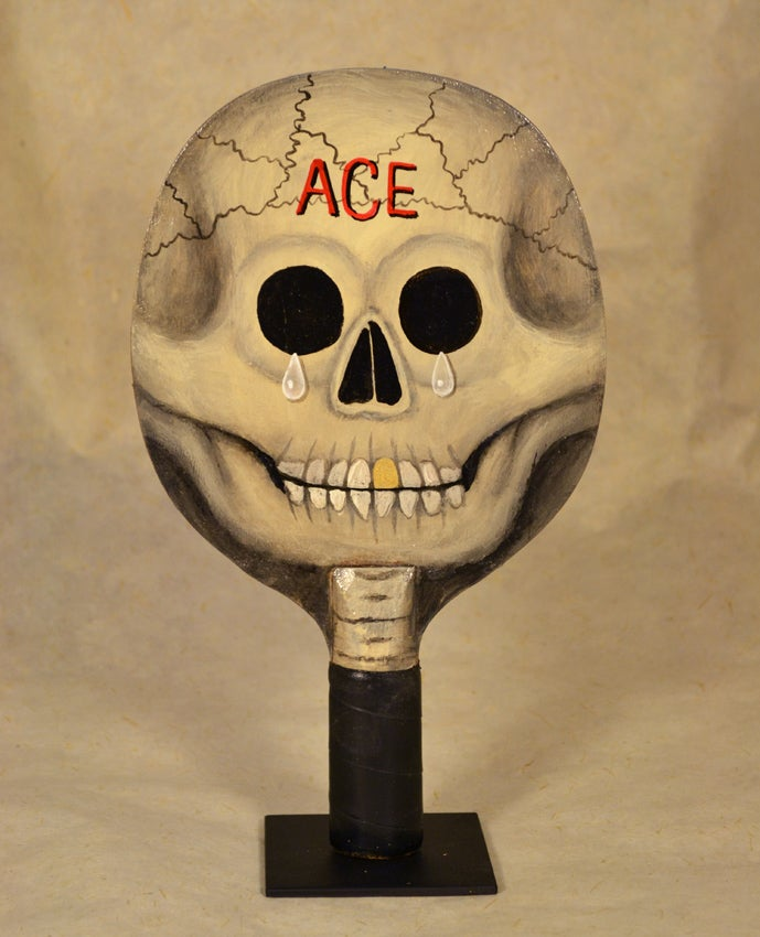 Image of Fred Stonehouse - Skull paddle (ACE)