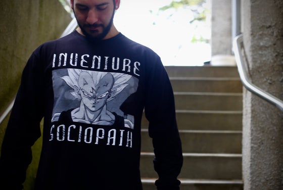 Image of Vegeta Sociopath Long Sleeve