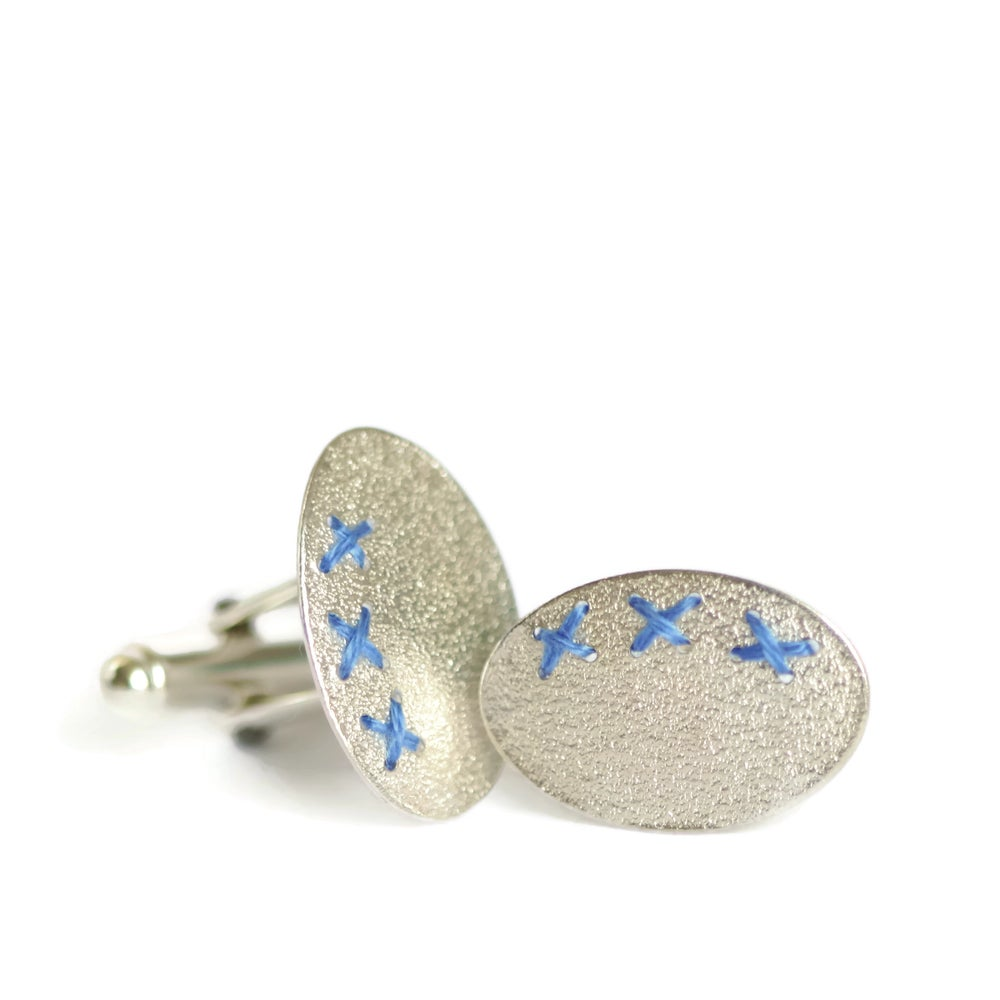 Image of Sewn Up Cufflinks