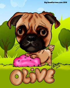 Image of Digital Pet Caricatures