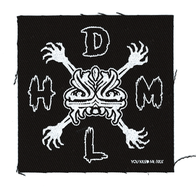 Image of DLHM Punk Rock - Sew On Patch