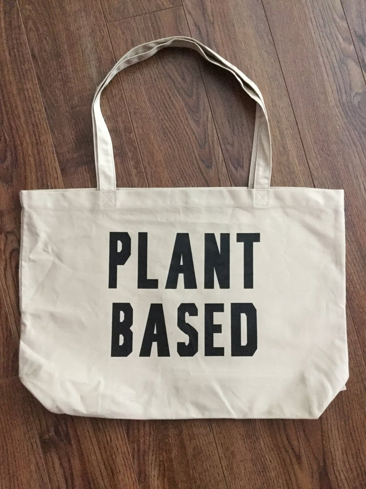 Image of PLANT BASED LARGE ORGANIC TOTE