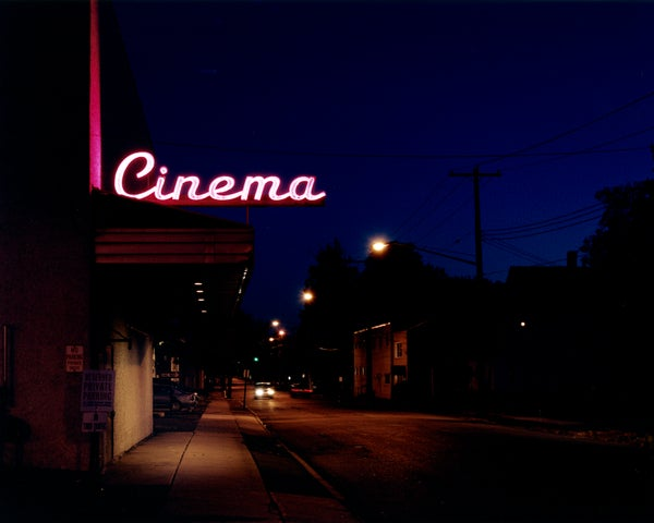 Image of Cinema.  Endicott, NY 2013.