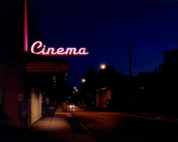 Image of Cinema.  Endicott, NY 2013.