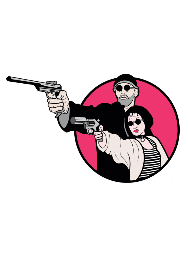 Image of Leon & Mathilda by Gibson Graphix