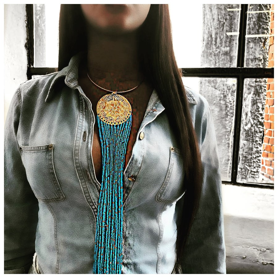 Image of Raindrop necklace