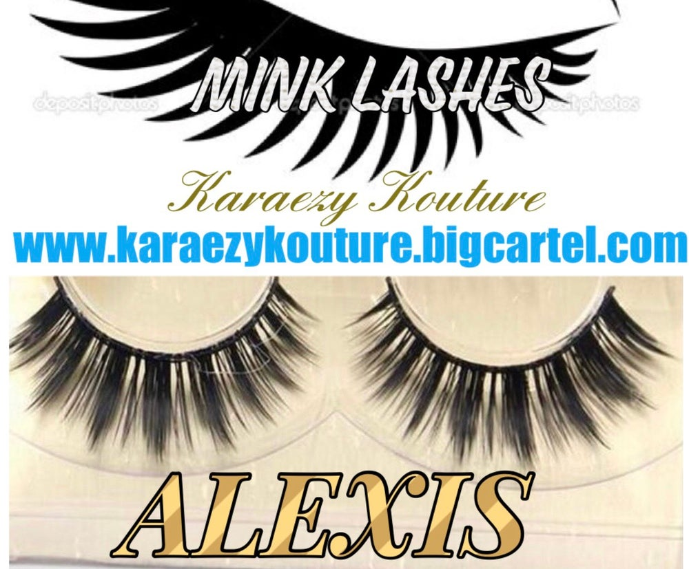 Karaezy Kouture Import Hair Extensions Mink Eyelash Strips