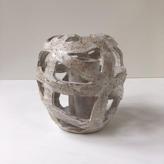 Image of Basket Vase 2