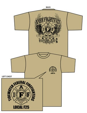 Image of F-25 Eagle Theme Shirt