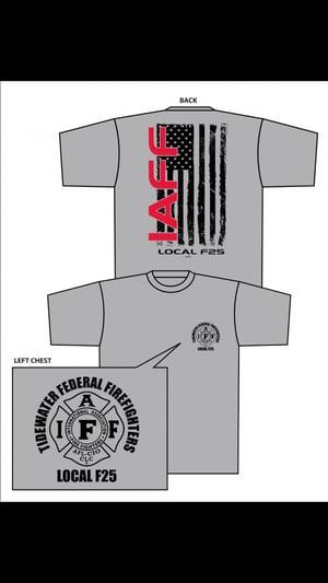 Image of F25 Flag Themed Shirt