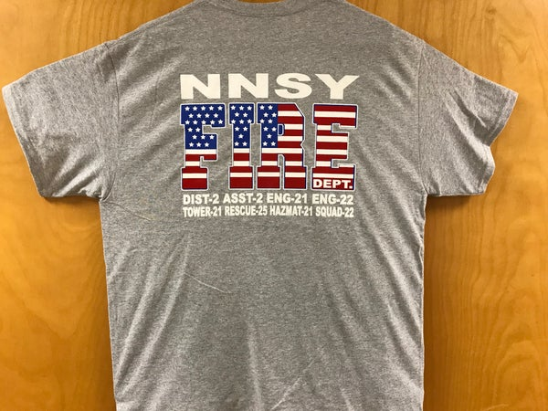 Image of Station #9 - NNSY FD Shirt
