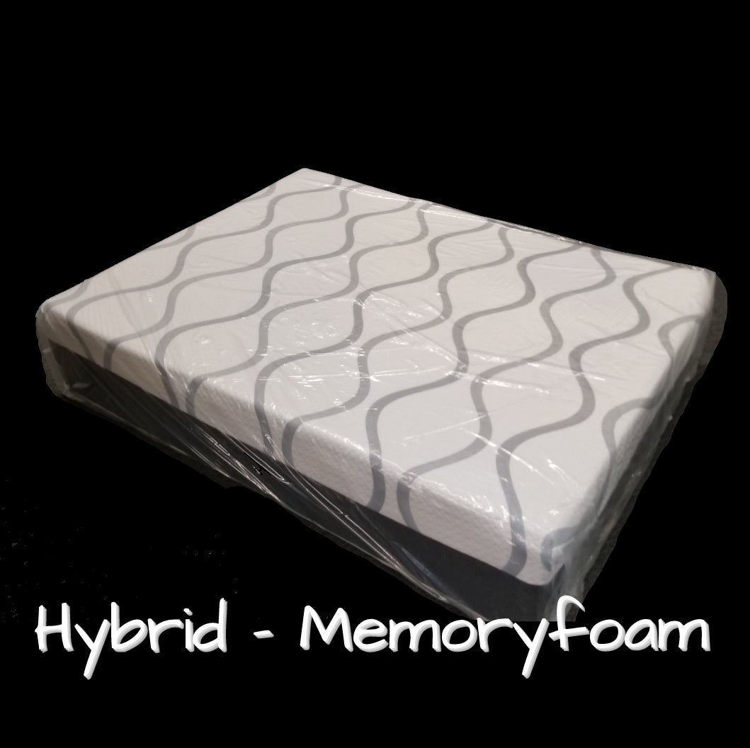 Image of Hybrid Memory Foam with Cooling Gel