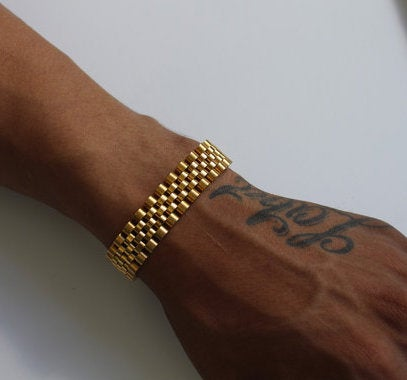 Image of Gold Rollie Bracelet