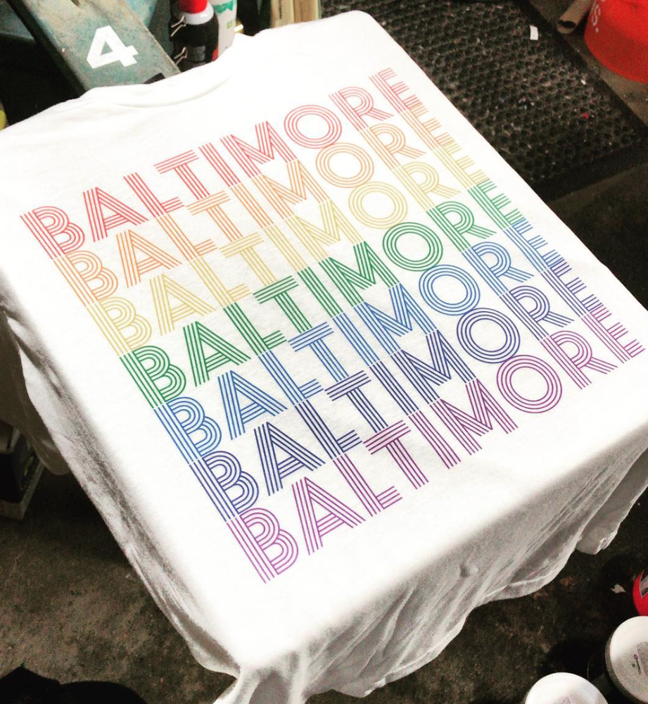 Image of Baltimore Rainbow Shirt