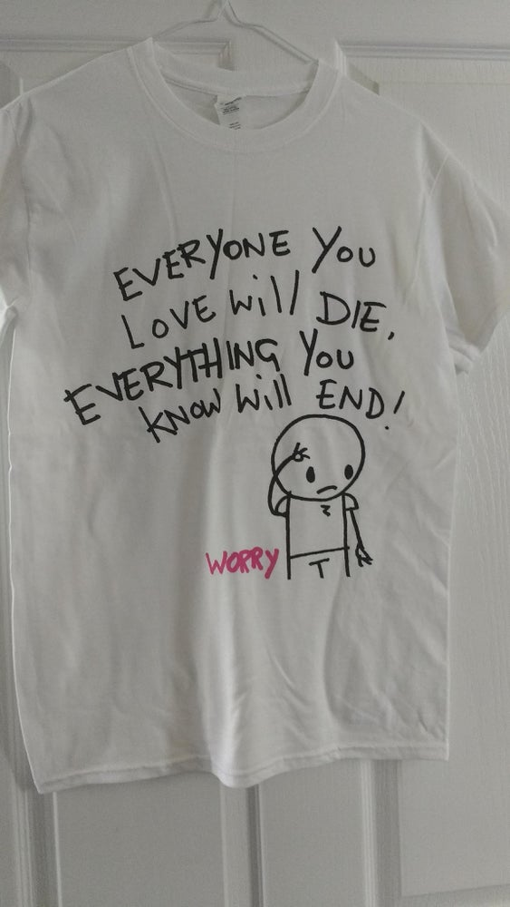 Image of Revenge Lyric T-shirt
