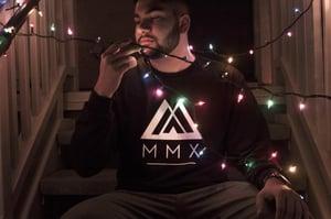 Image of Black Long Sleeve MMX Tee