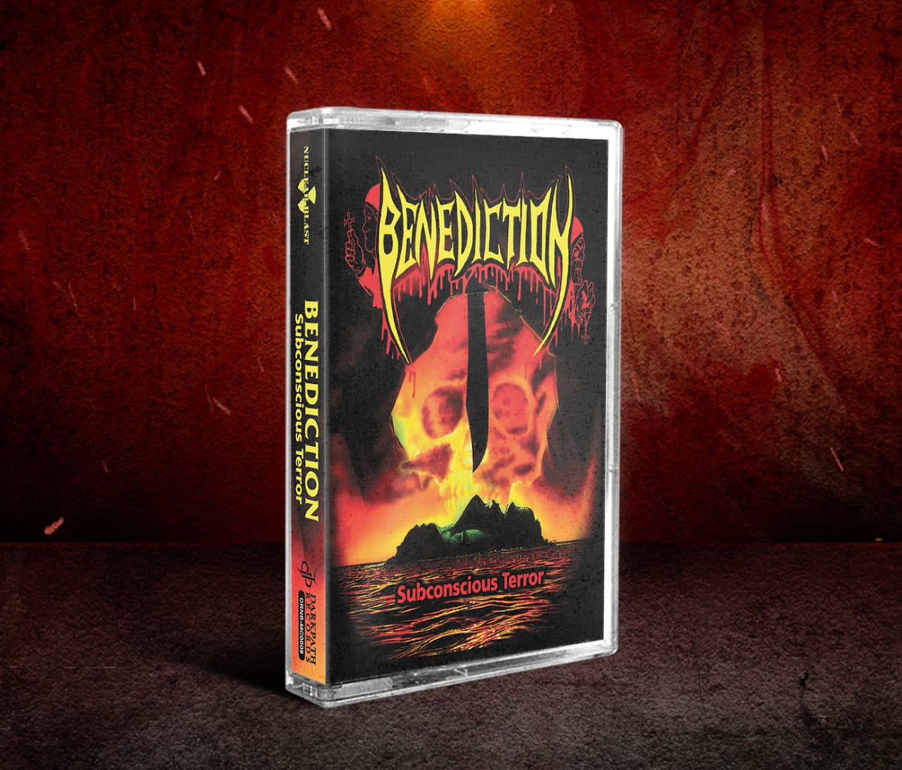 Image of BENEDICTION - SINISTER Tape