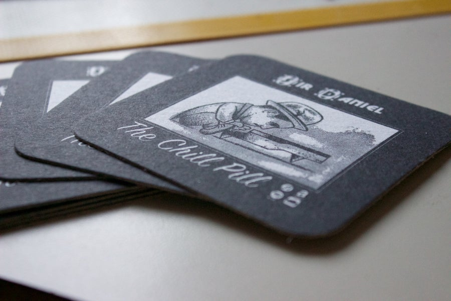 Image of Sir Daniel Drink Coasters