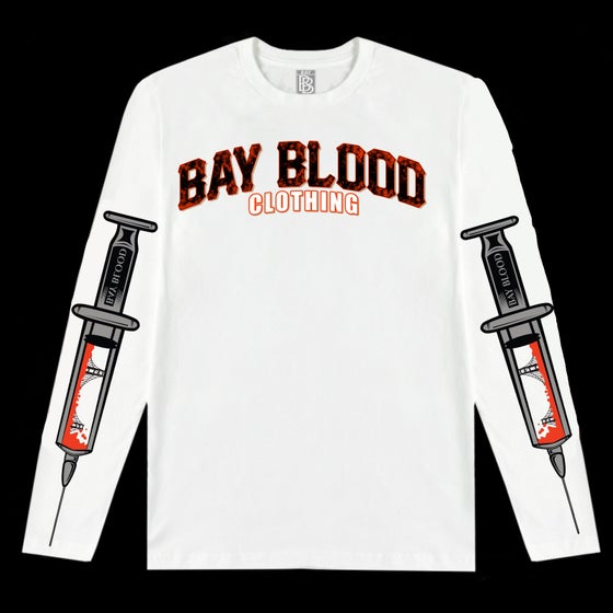 Image of Giants Blood Long-sleeve (White)