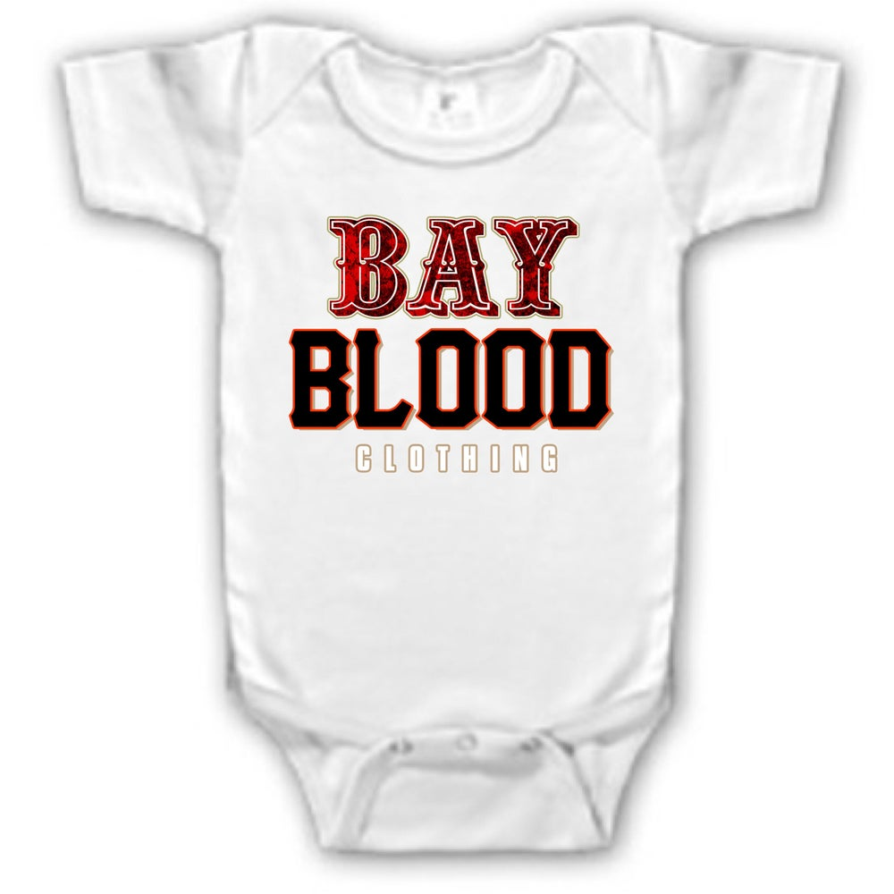 Image of Frisco Bay Blood Onesie (White)