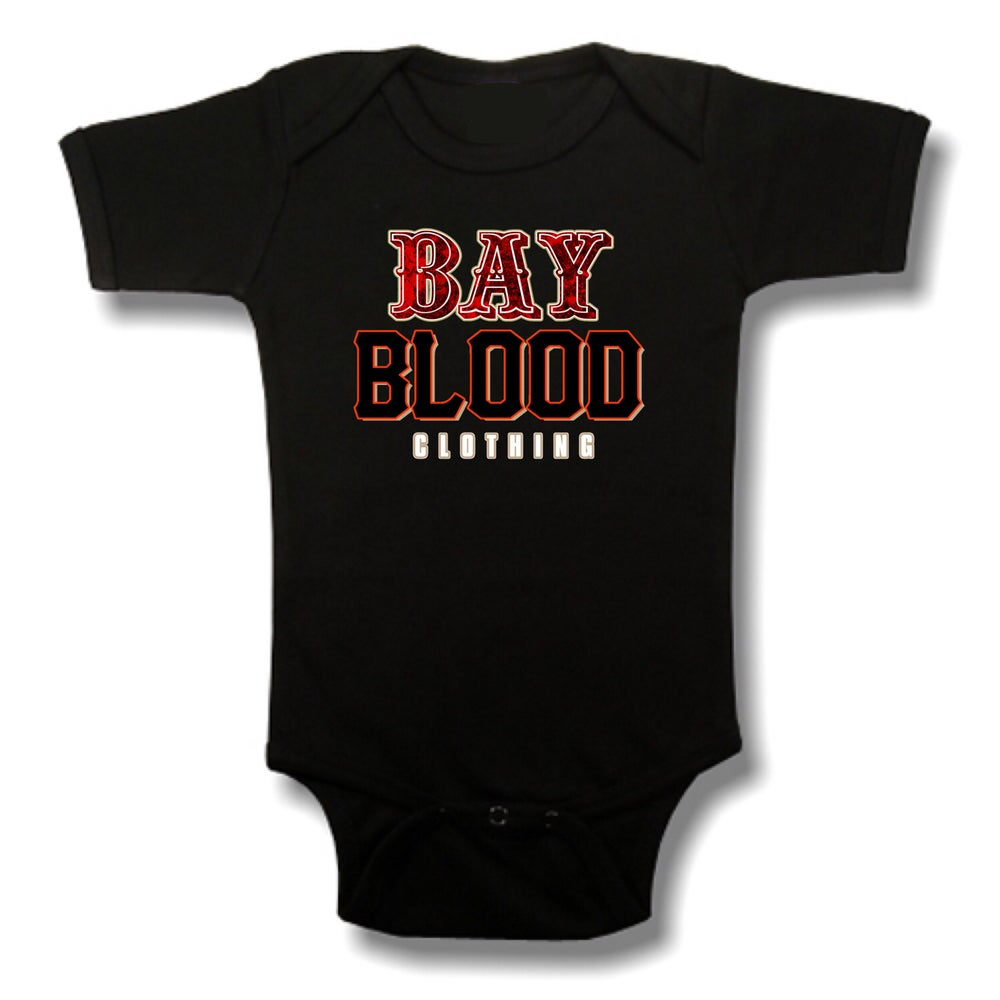 Image of Frisco Bay Blood Onesie (Black)