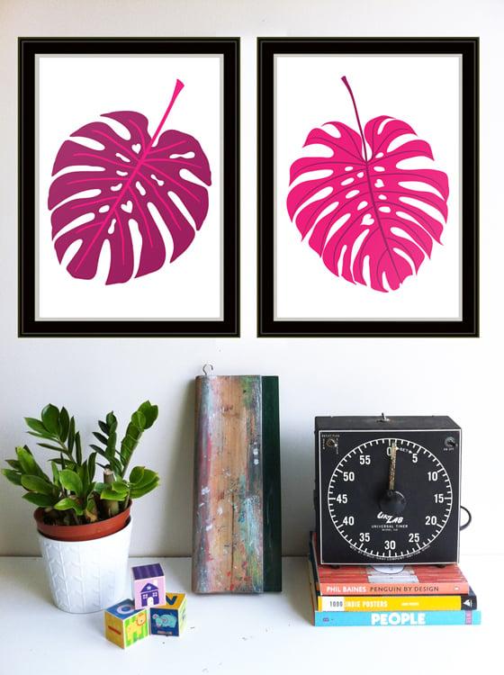 Image of Leaves Like Us Silkscreen Print Set