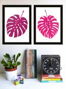 Image of Leaves Like Us Silkscreen Print Set - New!