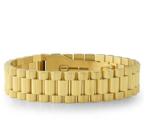 Image of Gold Rollie Bracelet