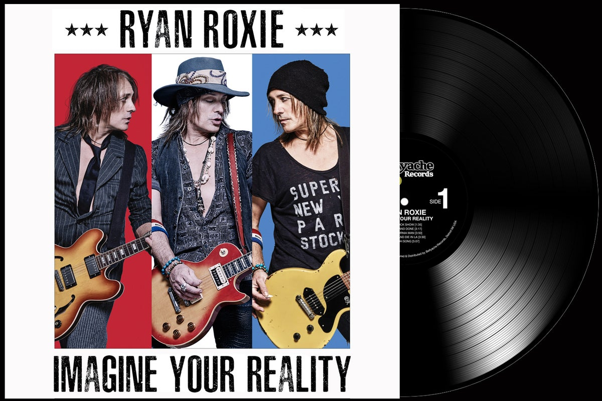 Image of Ryan Roxie - Imagine Your Reality - Super Deluxe Edition Vinyl LP + CD + Download Code