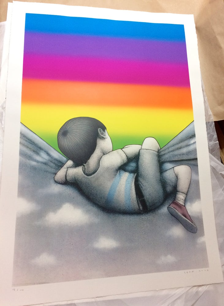 Image of Over The Rainbow Print By SETH