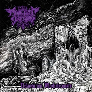 "Image of NEKRO CVLT DESECRATION ""Nekrosatani  Alcoholocausto"""