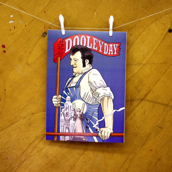 Image of Dooley Day Posters (Choose from 3 designs)