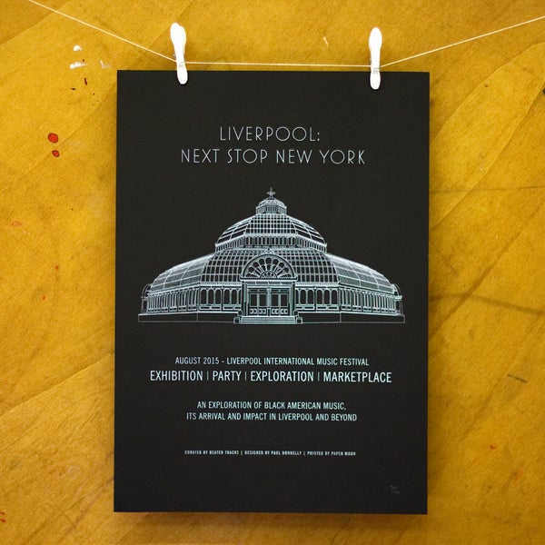 Image of Mellowtone Next Stop New York Poster (Limited print)