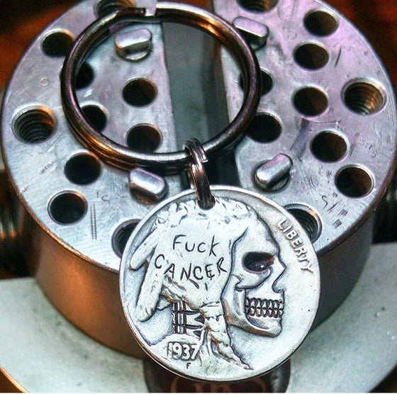 Image of FUCK Cancer Key Fob