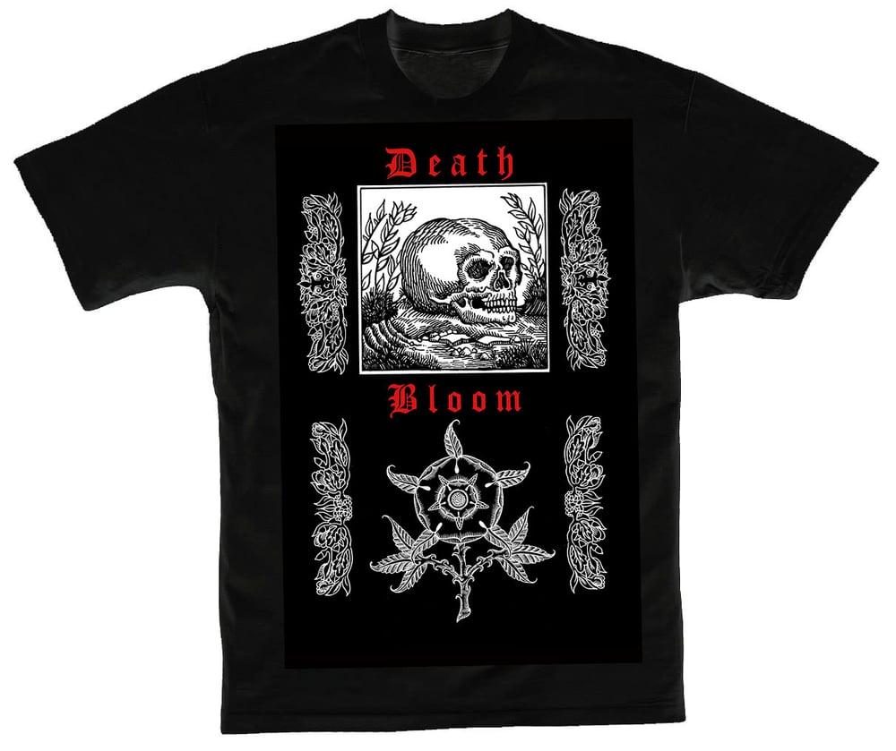 Image of Death Bloom shirt (Black)