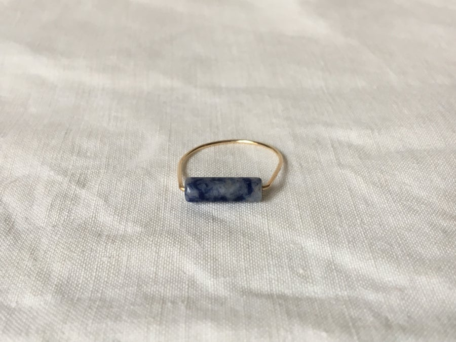 Image of Bague Mathilda sodalite